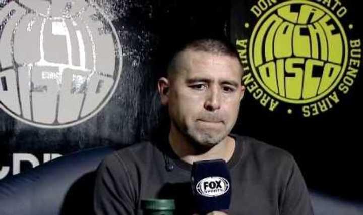 Riquelme habló sobre el futuro de Guillermo