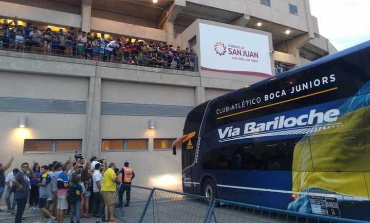 La llegada de Boca al Bicentenario