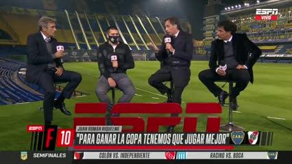 """Riquelme: """"Para ganar la Copa tenemos que jugar mejor"""""""