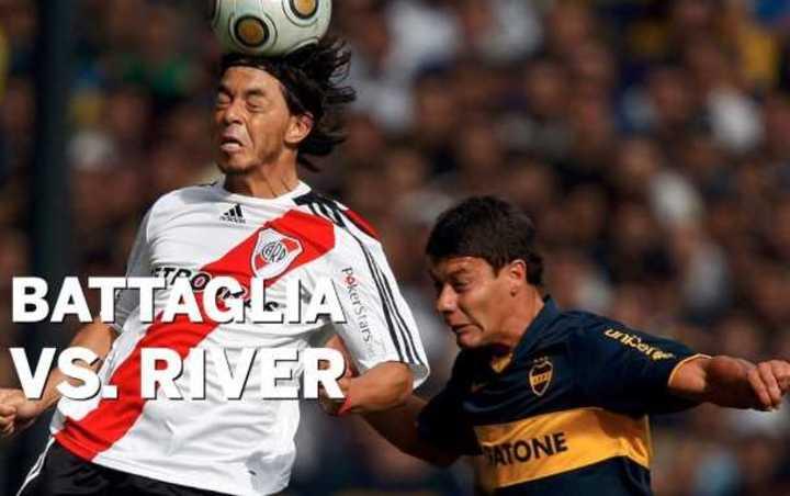 Los partidos de Battaglia vs. River