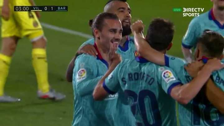Barcelona se puso arriba con un gol en contra