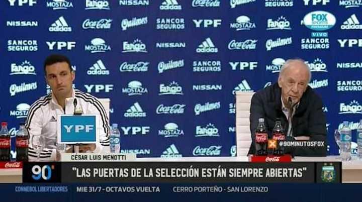 Menotti habló de Messi