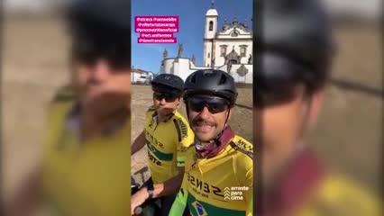 Fred y su viaje en bici