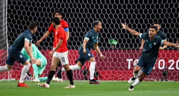 Medina y el 1-0 de Argentina contra Egipto