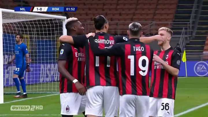 Milan y la Roma empataron 3 a 3