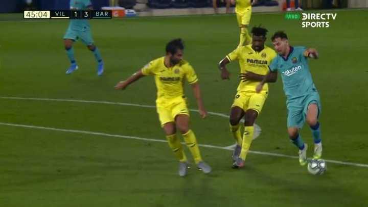 Mirá las perlas de Messi en la goleada del Barsa