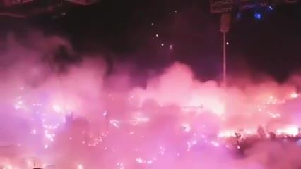 Los festejos del PAOK