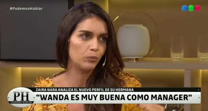 Zaira defendió a Wanda