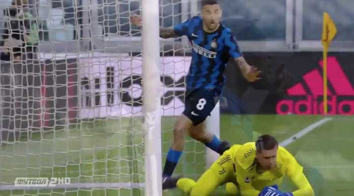 Inter encontró el empate con un gol en contra