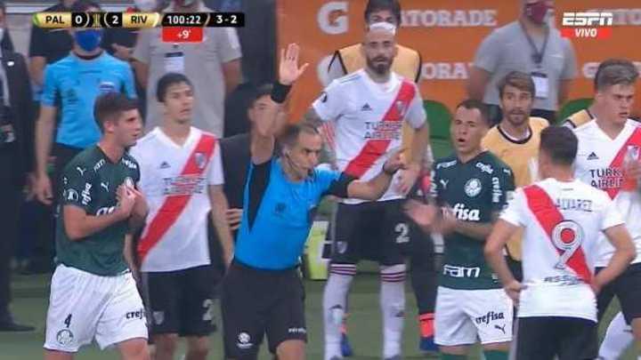 Las polémicas en Palmeiras - River