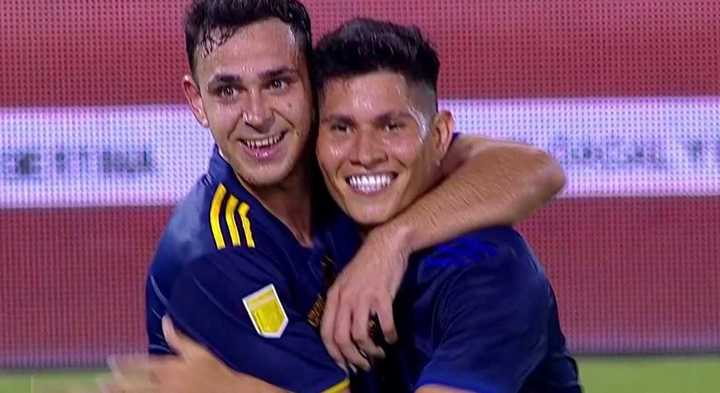 Campuzano marcó el séptimo de Boca