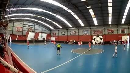 Futsal femenino: Banfield se hizo cuatro goles en contra para perder con Gimnasia