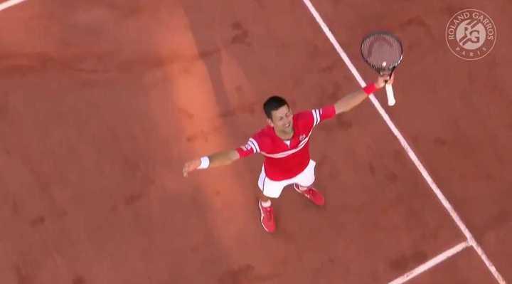Djokovic campeón de Roland Garros