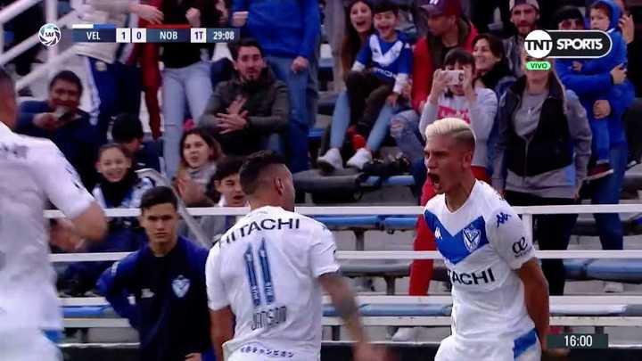 Nico Domínguez definió mano a mano para el 1-0