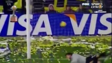 Todos los goles de Riquelme en la Libertadores
