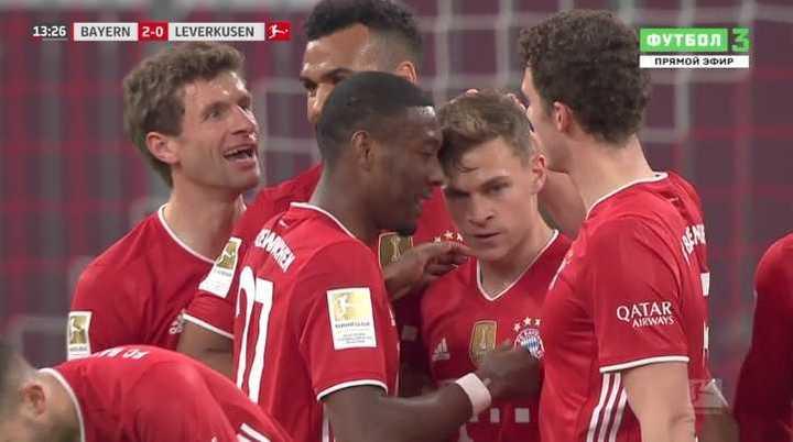 Bayern 2 - Leverkusen 0
