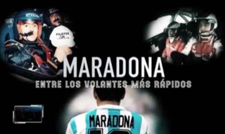 Maradona y el automovilismo