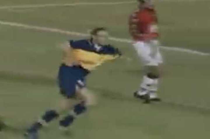 Gol de Palermo a Colón