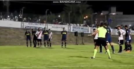 El gol de River 1 - Boca 0 en Reserva