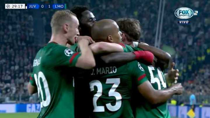 Miranchuk marcó el 1 a 0 del Lokomotiv