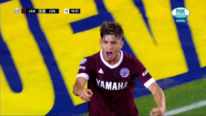 Gracias al gol de Belmonte gana Lanús