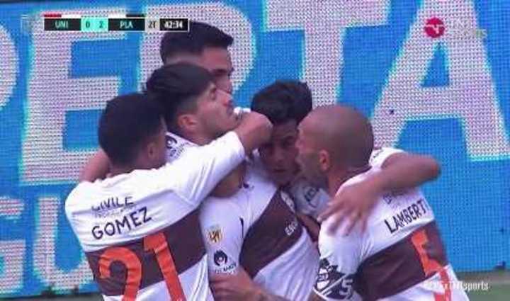 Lomónaco marcó el 2 a 0