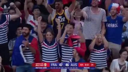 Francia se quedó con el bronce en el Mundial