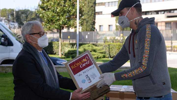 Desde Roma explican la ayuda en época de coronavirus