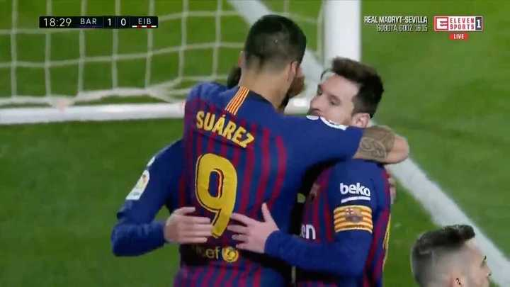 Suárez metió el primero