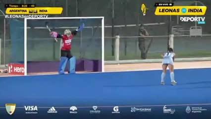 El empate de Agustina Gorzelany de penal