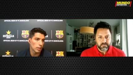 Suárez y la continuidad de Messi en el Barcelona