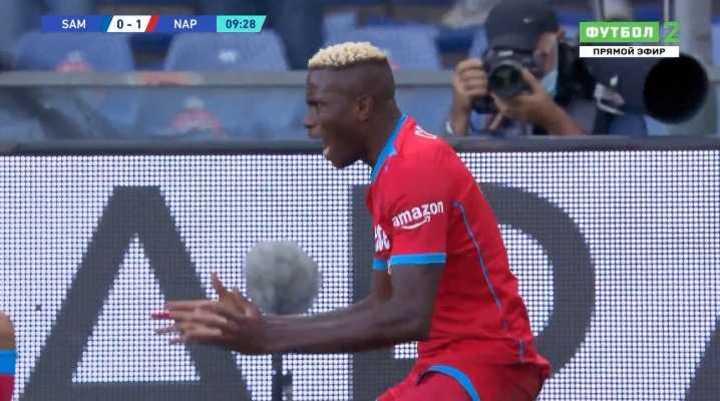 La goleada del Napoli