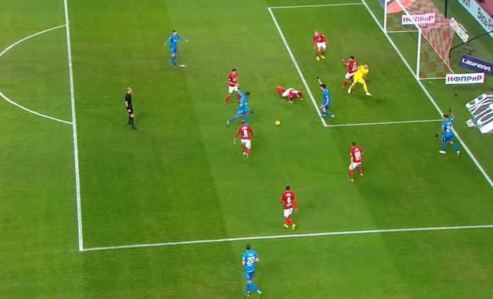 El gol de Barrios en Rusia