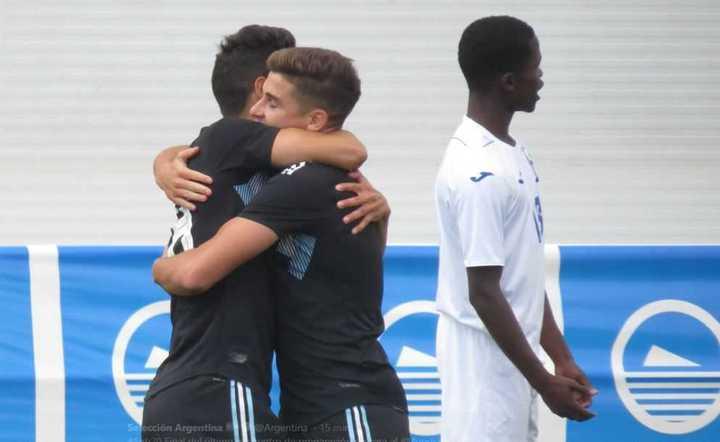 La Argentina le ganó 3-1 a Honduras