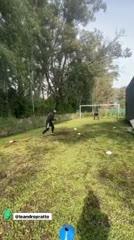 El gol de Pratto en cuarentena