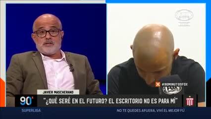 """Se me cruza por la cabeza ser entrenador"""