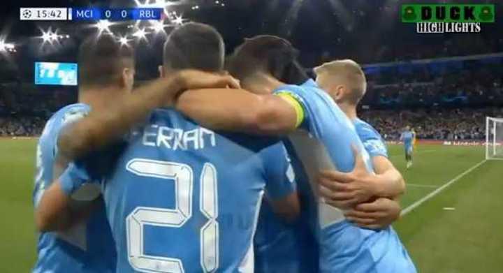 Manchester City ganó 6 a 3