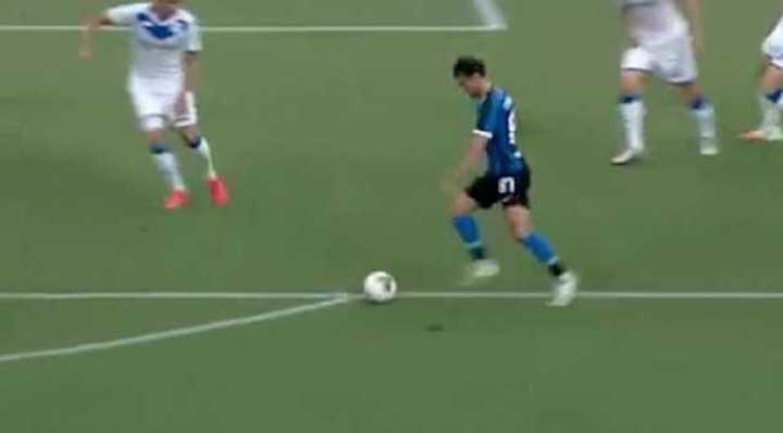 Candreva selló el 6 a 0 del Inter sobre Brescia