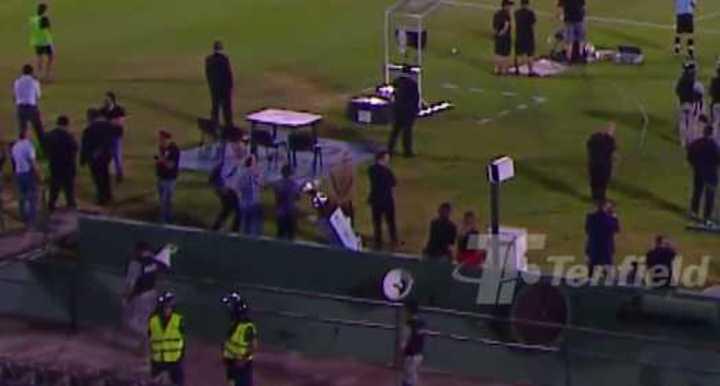 La Copa de Uruguay se cayó al foso