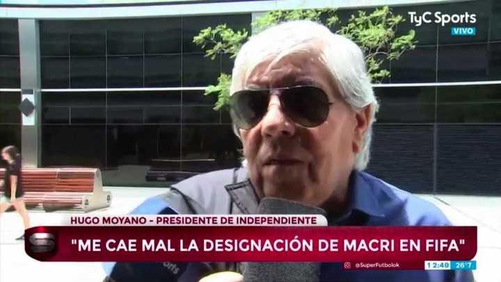 """""""Yo creo que Pablo Pérez no va a seguir siendo jugador de Independiente"""""""
