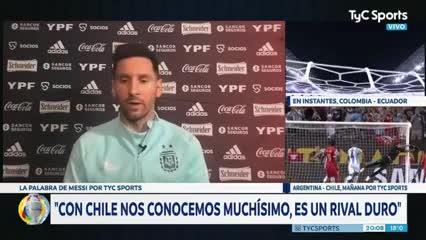 """Messi: """"Esta Copa puede ser la posibilidad de dar un golpe"""""""