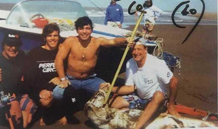 La anécdota de Maradona y  Jorge Oyhanart
