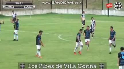 El 3-0 de Argentino (M) a El Porvenir