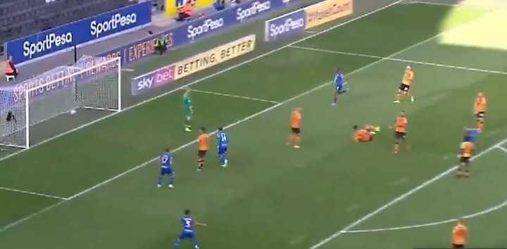 Un gol de Gelhardt para el Wigan