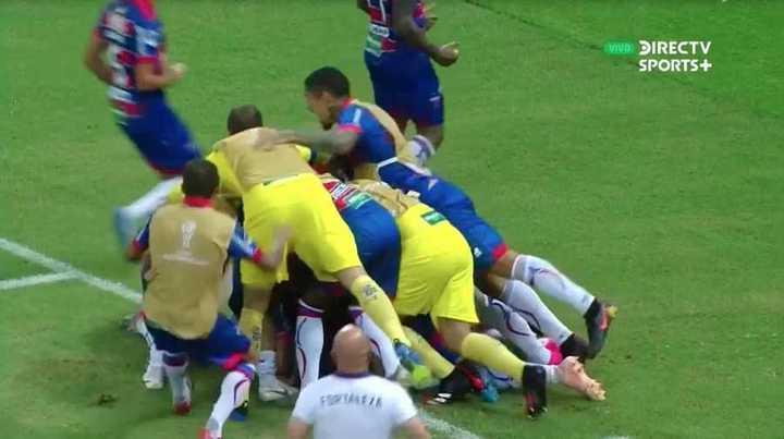 Fortaleza marcó el 2 a 0