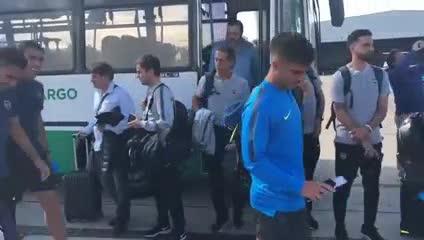 La salida de Boca hacia Colombia