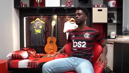 El fanático de Flamengo en el Reality