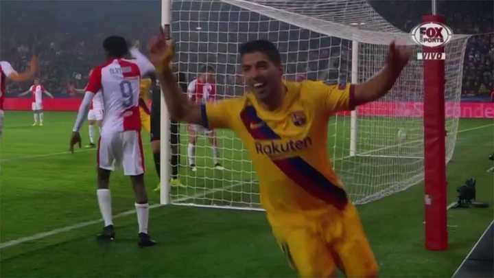 Suárez volvió a poner en ventaja al Barcelona