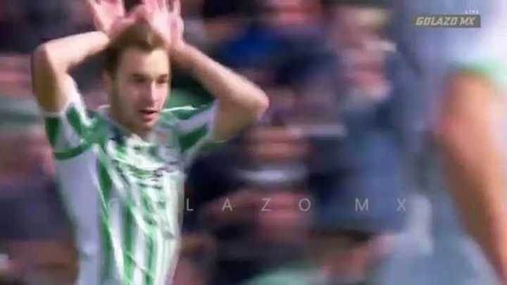 Los goles entre Betis y Girona