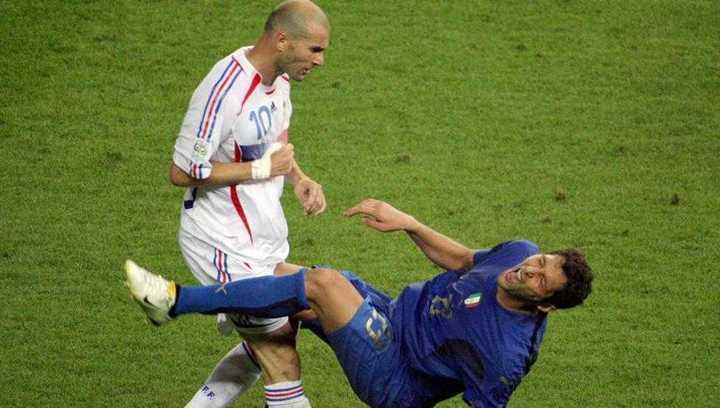 El cabezazo de Zidane en la final del Mundial